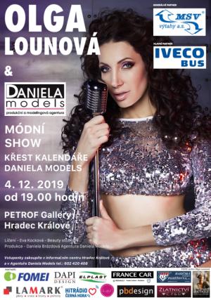 Koncert Olgy Lounové a módní show