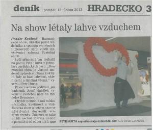 Valentýn 2013 v OC Futurum Hradec Králové
